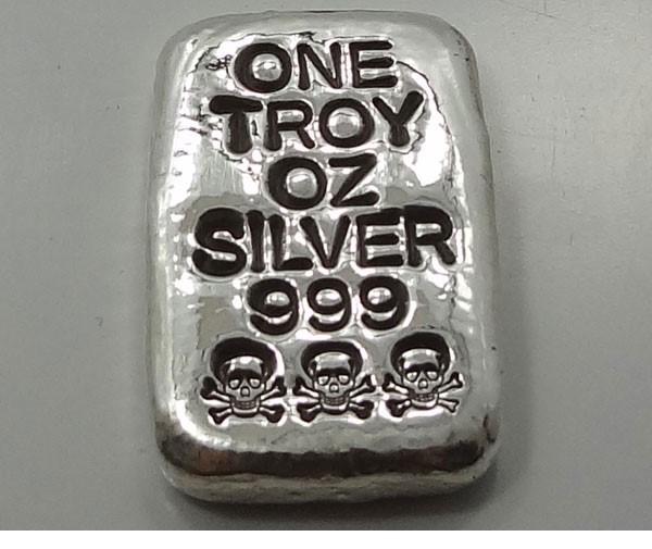 Silver Bullion ONE OUNCE SILVER BULLION