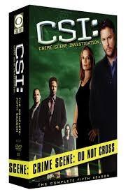 DVD BOX SET DVD CSI FIFTH SEASON