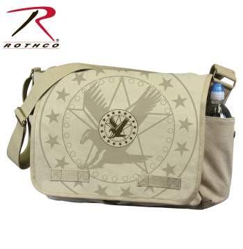 ROTHCO VINTAGE CANVAS MESSENGER BAG