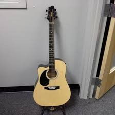 STAGG MUSIC Electric-Acoustic Guitar SW203CE-LHN