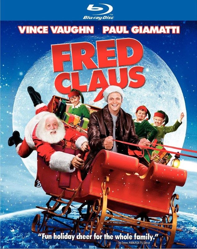 BLU-RAY MOVIE Blu-Ray FRED CLAUS