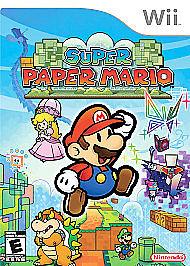 NINTENDO Nintendo Wii Game SUPER PAPER MARIO