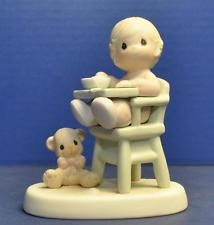 PRECIOUS MOMENTS Collectible Figurine BABY'S FIRST MEAL