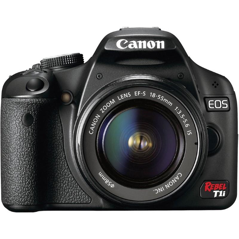 CANON EOS REBEL T1I DIGITAL CAMERA W/ EFS 18-55MM