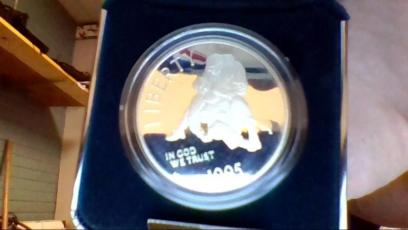 UNITED STATES Mint Set CIVIL WAR COMMEMORATIVE COIN