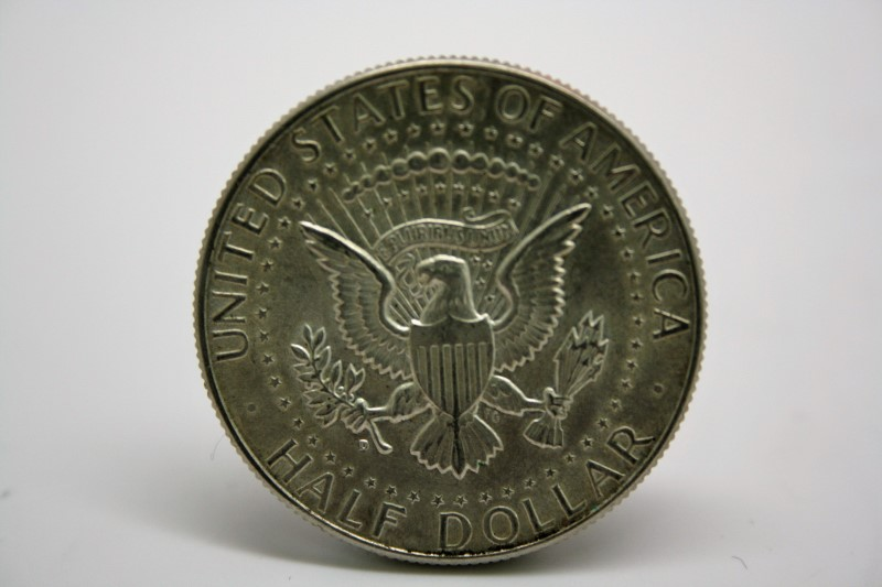 UNITED STATES 1964 D KENNEDY HALF DOLLAR