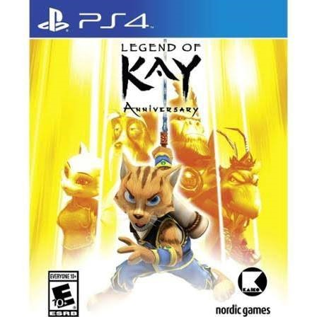 SONY Sony PlayStation 4 Game LEGEND OF KAY ANNIVERSARY