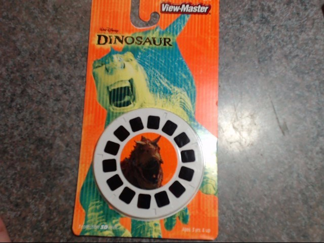 VIEW-MASTER Miscellaneous Toy DINOSAUR
