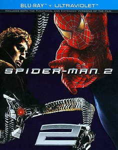 BLU-RAY MOVIE Blu-Ray SPIDERMAN 2