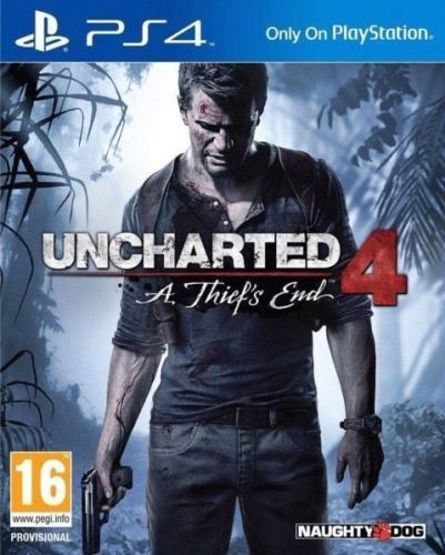 SONY Sony PlayStation 4 Game UNCHARTED 4 - PS4