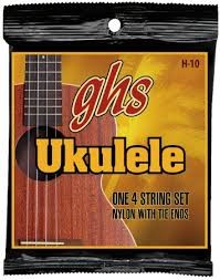 GHS STRINGS Musical Instruments Part/Accessory H-10 UKULELE STRINGS