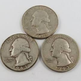 UNITED STATES Silver Coin 1954-D WASHINGTON QUARTER