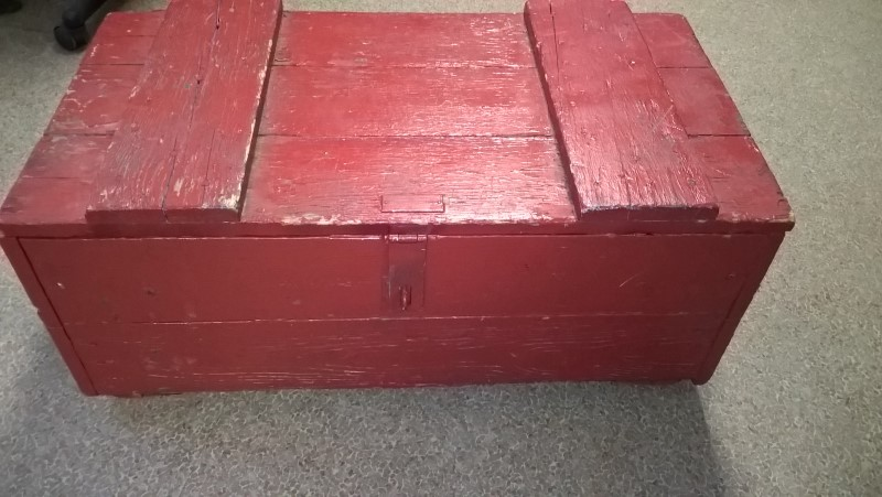US ARMY RED BOX