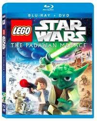 BLU-RAY MOVIE Blu-Ray LEGO STAR WARS THE PADAWAN MENACE
