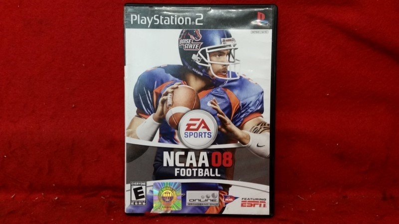 SONY Sony PlayStation 2 Game NCAA 08 FOOTBALL