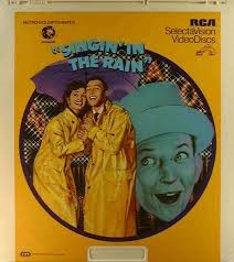CED Vintage Movie & Photography SINGIN IN THE RAIN
