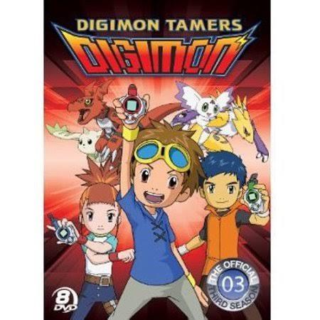 DVD BOX SET DVD DIGIMON SEASON 3