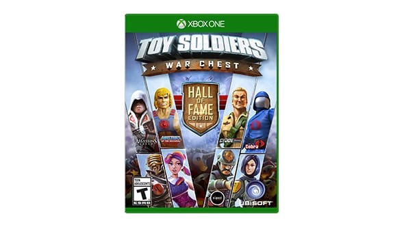 MICROSOFT Microsoft XBOX One Game TOY SOLDIERS WAR CHEST HALL OF FAME EDITION
