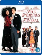 BLU-RAY MOVIE Blu-Ray FOUR WEDDINGS AND A FUNERAL