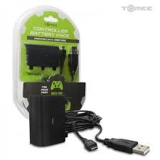 TOMEE Video Game Accessory M07031 CONTROLLER BATTERY/CHARGE CORD FOR XBOXONE