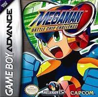 NINTENDO Nintendo GBA Game MEGAMAN BATTLE CHIP CHALLENGE