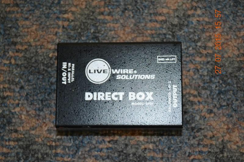 LIVEWIRE SOLUTIONS DIRECT BOX | McBride Music & Pawn | Denton | TX
