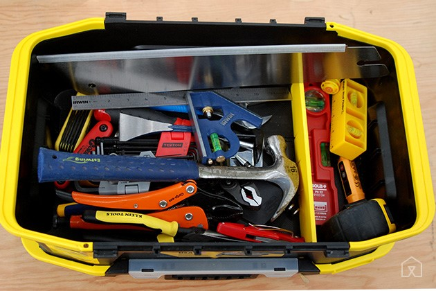 MISC TOOLS IN TOOL BOX