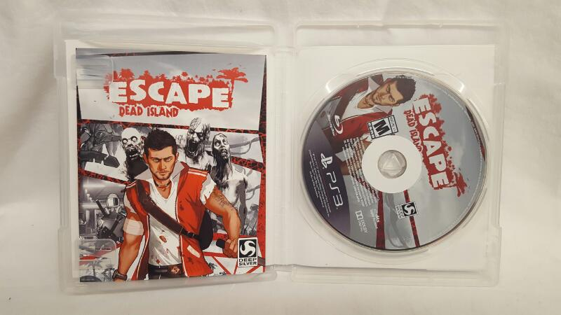 Sony PlayStation 3 Game ESCAPE DEAD ISLAND