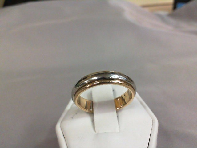 Lady's Gold Ring 14K 2 Tone Gold 6.29g