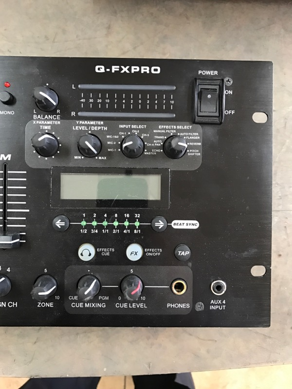 AMERICAN AUDIO Amplifier Q-FXPRO