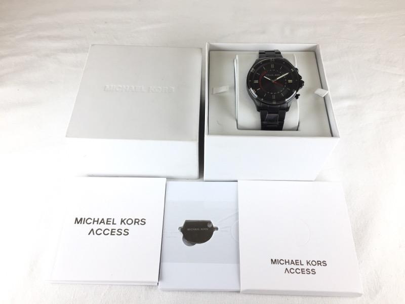 16a601b06545 MICHAEL KORS Gent s Wristwatch MKT4015 HYBRID SMARTWATCH Like New ...