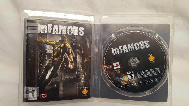 Sony PlayStation 3 Game INFAMOUS