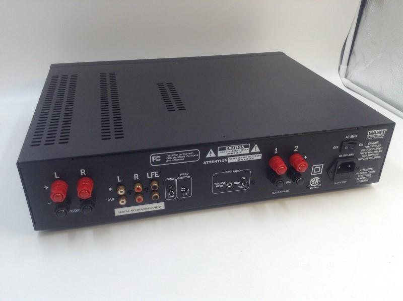 Klipsch RSA-500 Subwoofer Amplifier - Black Brush with Power Cord