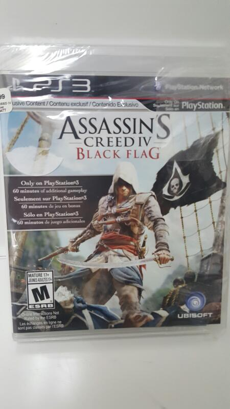 Assassin's Creed IV: Black Flag (Sony Playstation 3, PS3)