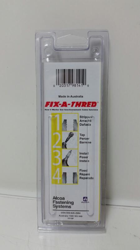NEW Alcoa Fastening Systems Fix-A-Thread Plug Saver M14-1.25 - 98141