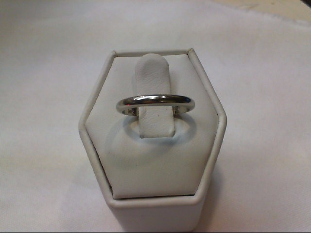 Lady's Gold Wedding Band 14K White Gold 1.9g