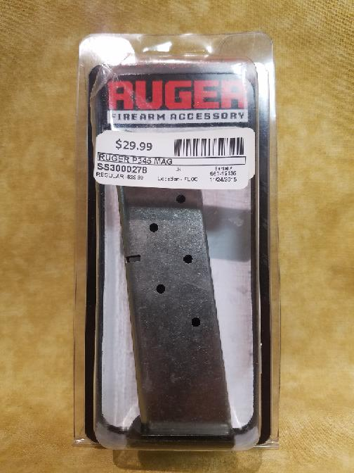Ruger P-345 Pistol 45ACP 8 RD Round Magazine 90230 Genuine Factory Clip Mag