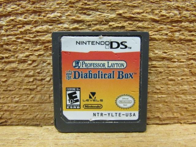 NINTENDO Nintendo DS Game PROFESSOR LAYTON AND THE DIABOLICAL BOX