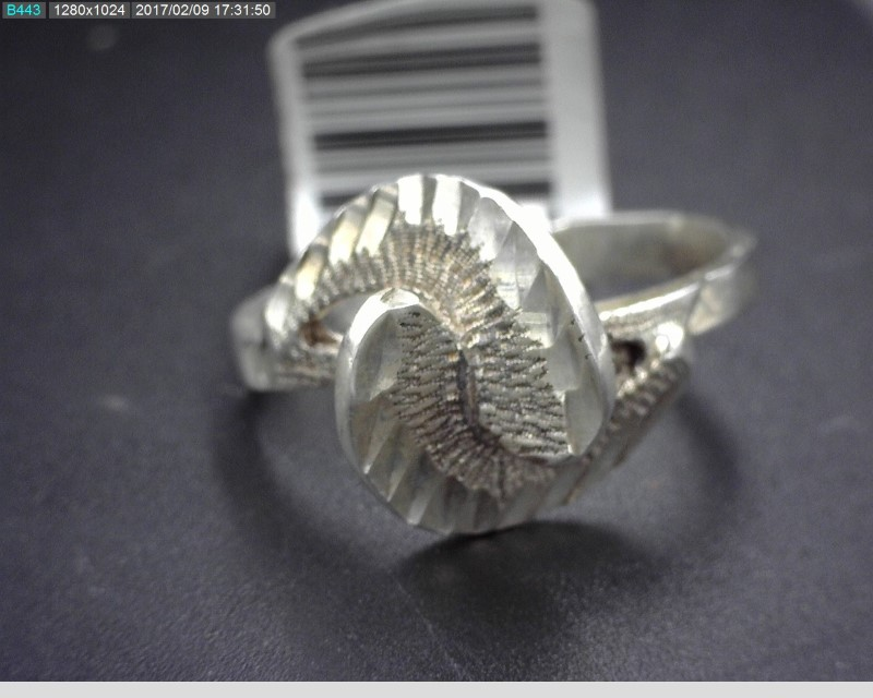 STERLING SILVER LADIES RING S925 3.1G SZ7.5