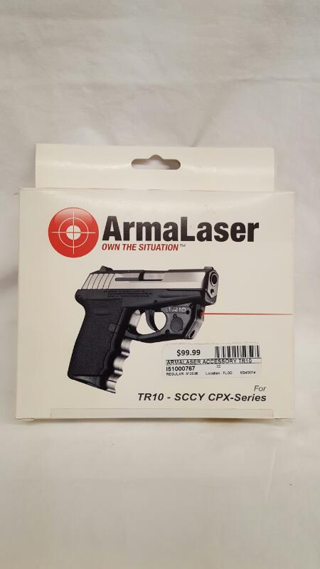 ArmaLaser TR10 for SCCY CPX Series