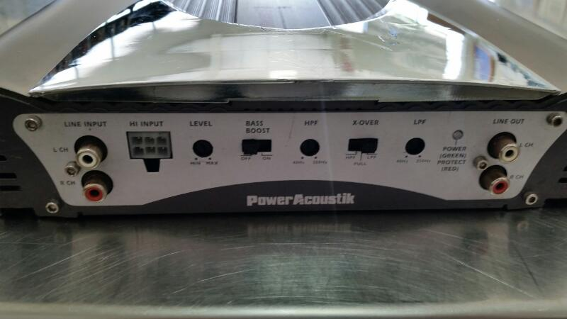 POWER ACOUSTIK Car Amplifier OV2-820