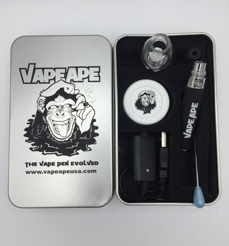 VAPE APE Vapor Pen Complete Kit In Collectible Tin