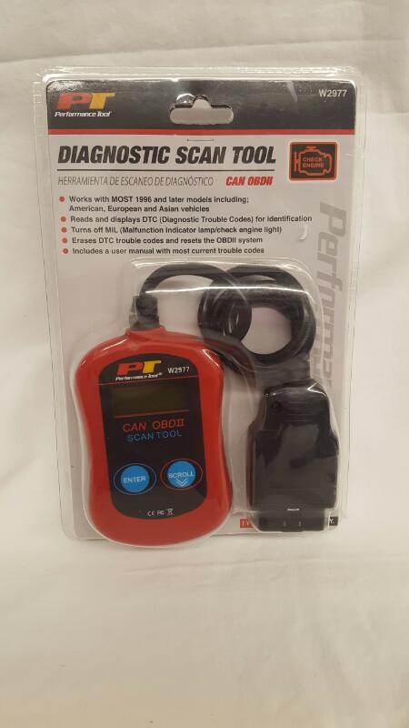PERFORMANCE TOOL W2977 CAN OBDII DIAGNOSTIC SCAN