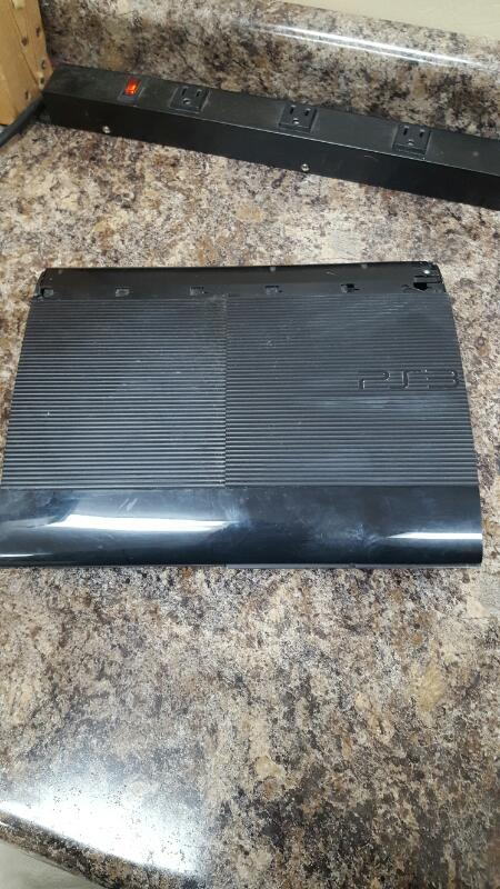 Sony PlayStation 3 Super Slim 12gb Black Console, PS3 (CECH-4201A)