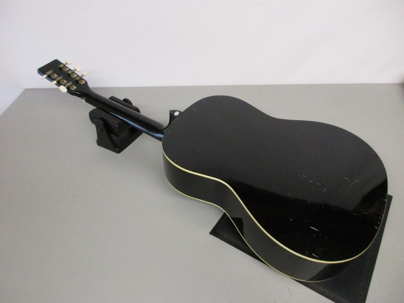 JOHNSON JG-100-BL ACOUSTIC GUITAR, BLACK