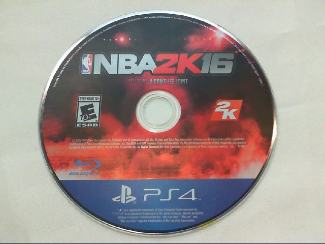 NBA 2K16 - Playstation 4 - PS4 (Game Disc Only)