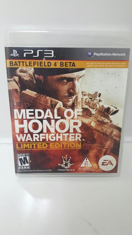 Medal of Honor: Warfighter Limited Edition (Sony Playstation 3 PS3)