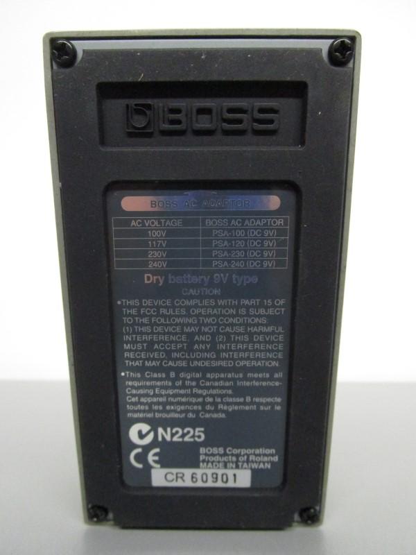 BOSS DD-6 DIGITAL DELAY WITH ANALOGMAN MOD