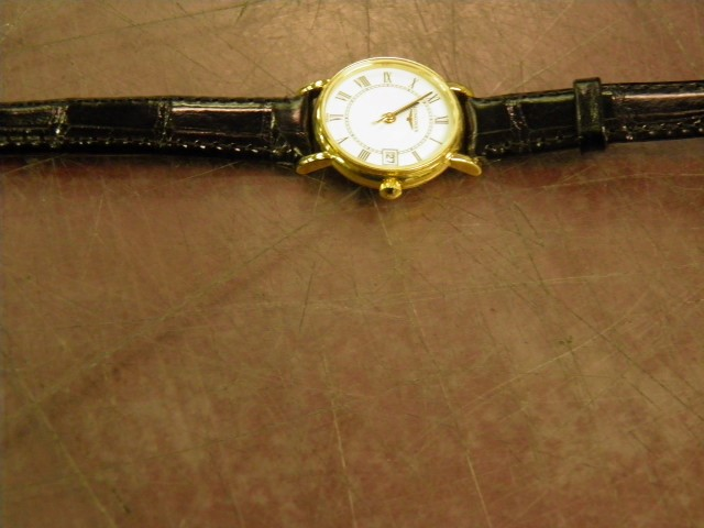 LONGINES Lady's Wristwatch L7 490 6 18K Yellow Gold 17.8g