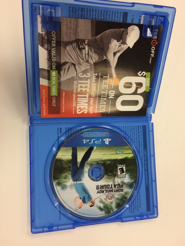 SONY Sony PlayStation 4 Game RORY MCILROY PGA TOUR - PS4